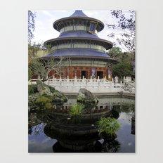 China Pavilion Canvas Print