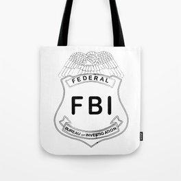 Feds Badge Tote Bag