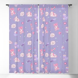 Nurse Ducks - Menhera Design Blackout Curtain