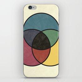 Matthew Luckiesh: The Subtractive Method of Mixing Colors (1921), vintage re-make iPhone Skin
