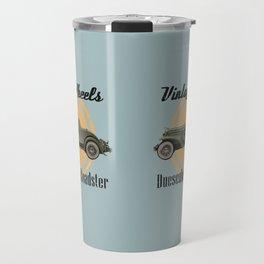 Vintage Wheels: Duesenberg SJ Roadster Travel Mug