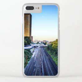 On a Rainy Day Clear iPhone Case