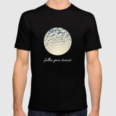 Clouds Effect Mens Fitted Tee SMALL Black
