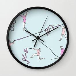 Gimnasio municipal Wall Clock