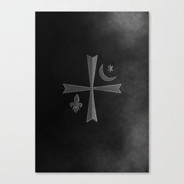 Vampires symbols Canvas Print