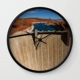 Glen Canyon Dam and Lake Powell Wall Clock