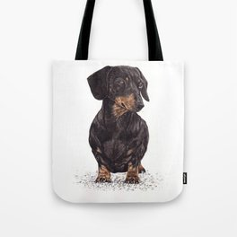 Dog-Dachshund Tote Bag