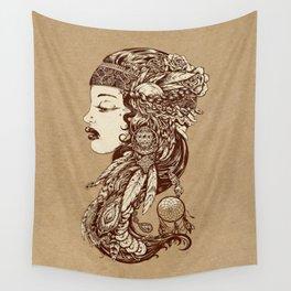 Gypsy Girl Wall Tapestry