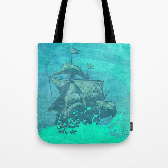 Sea Route Tote Bag