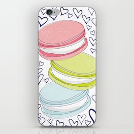 For the Love of Macarons iPhone Skin