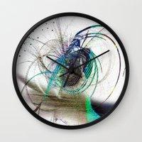 emerald Wall Clocks featuring Emerald by haroulita