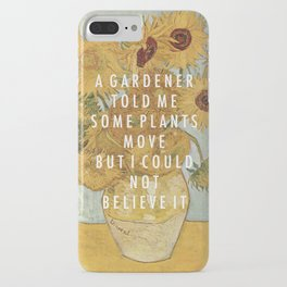 Hunting for Sunflowers iPhone Case