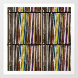 Vinyl Record Collection #1 - Casio CoPilot - Vancouver BC Art Print