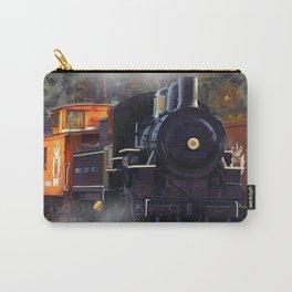 The Rail Yard  -  Steam Train Carry-All Pouch