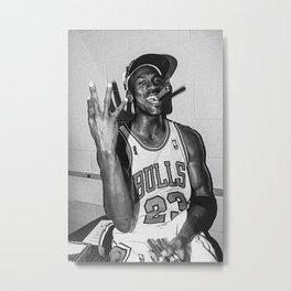 Michae-l Jordan Poster Metal Print