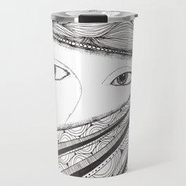 Shifty Eyes Travel Mug