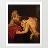 The Return of the Prodigal son Art Print