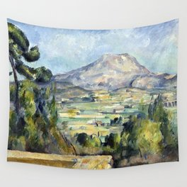 1890 - Paul Cezanne - Montagne Saint-Victoire Wall Tapestry