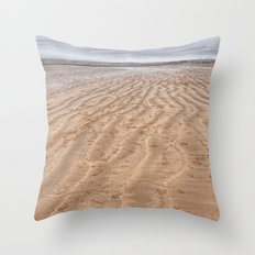 Instow walk Throw Pillow