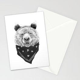 Wild bear Stationery Cards