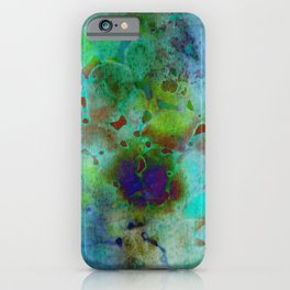 cool colors iPhone Case