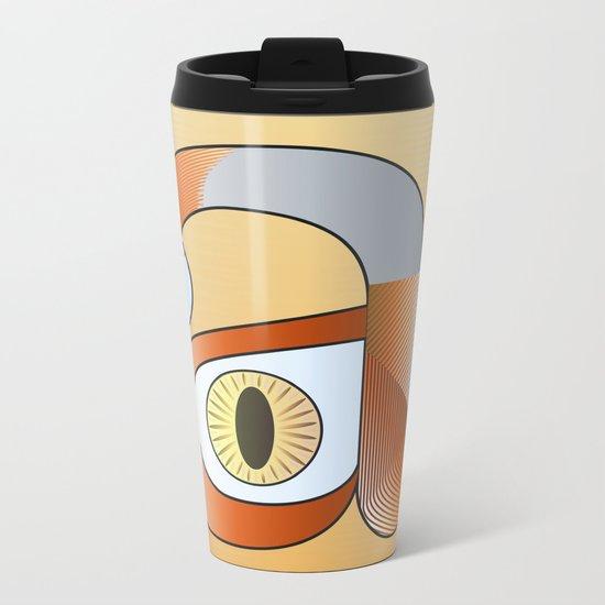 A for anatomy Metal Travel Mug