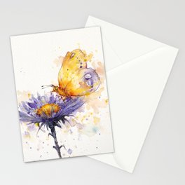 Flowers & Flutters Stationery Cards