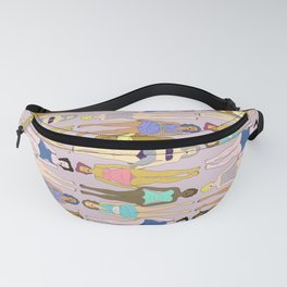 Sunbathers - Retro Female Swimmers Fanny Pack
