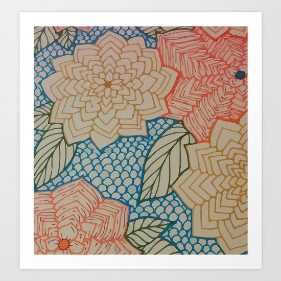 Spring Blooms Art Print