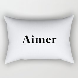 112. Love Rectangular Pillow