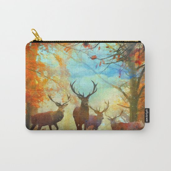 Autumn Forest Watch Carry-All Pouch