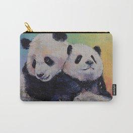 Panda Hugs Carry-All Pouch