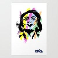 salvador dali Art Prints featuring Salvador Dali by Art of Fernie