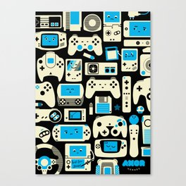AXOR Heroes - Love For Games Duotone Canvas Print