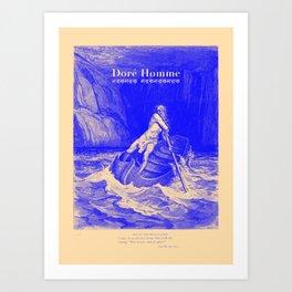 Doré Homme - Canto III Art Print