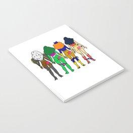 Superhero Butts Love 2 - Team Girls Notebook