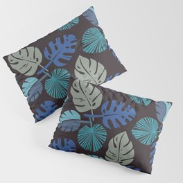 Blue Frond Pillow Sham
