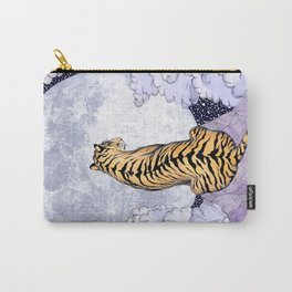Tiger Moon   Colour Version Carry-All Pouch