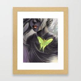 Actia Luna Cordis Framed Art Print