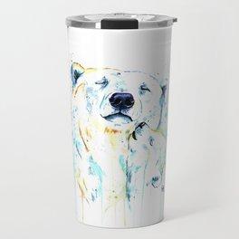 Polar Bear Unconditional Love Travel Mug