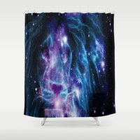 leo Shower Curtains featuring Leo by 2sweet4words Designs