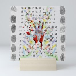 DNA signature is the fingerprint that can be used to identify us Mini Art Print