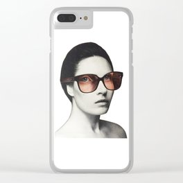 Seeing things in a different light Clear iPhone Case