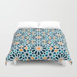 Tile of the Alhambra Duvet Cover