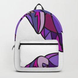 Labrador Retriever Dog Head Mosaic Color Backpack