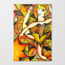Dancer- Change of Season  Canvas Print