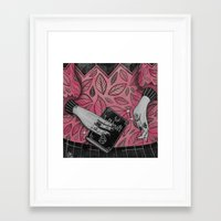 witchcraft Framed Art Prints featuring Witchcraft by lOll3