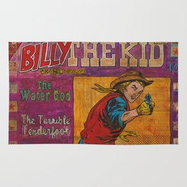 Billy The Kid Rug