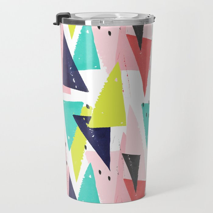Paper Play Travel Mug