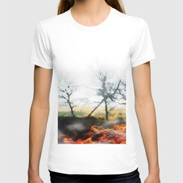 Impression, painted 023 T-shirt
